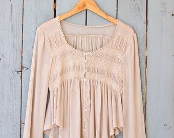 Romantic Long Sleeve Blouse