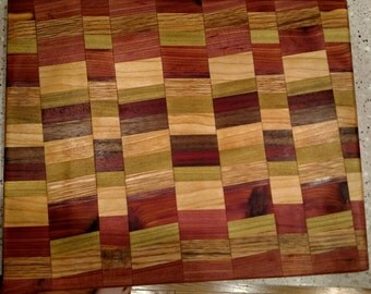 Random Pattern Cutting Board (9 x 11)