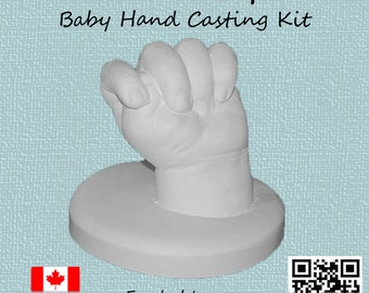 Baby Hand Life Casting Kit