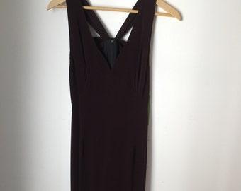 Odessa Burgundy Dress