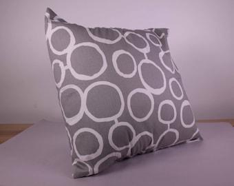 Grey Circles - Cushion Cover (50cm x 50cm)
