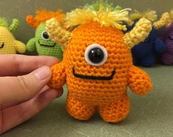 Crochet Amigurumi Baby Monsters With Craftyiscool : Monster amigurumi Etsy