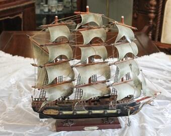 Fragata Espanola 1780  Ano Ship
