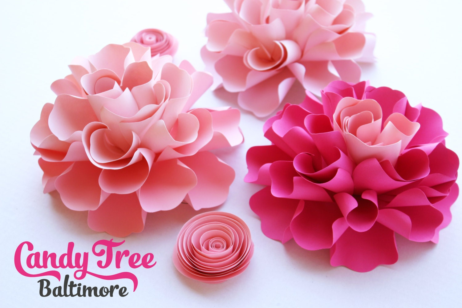 how to make small paper flowers