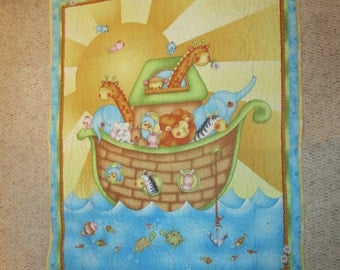 Noah's Ark Baby Quilt