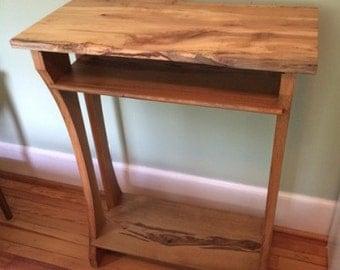 Hardwood Standing Desk