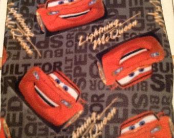 Cars and lightning McQueen  Fleece Children's Blanket