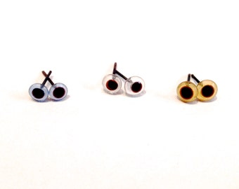 Eyes of Crystal of 5 mm 30 units / 15 pairs to choose in blue, Brown or transparent, accessories for dolls, bears, amigurumi