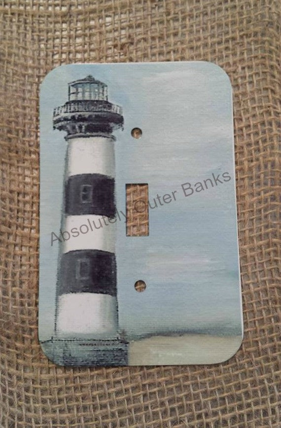 Items similar to lighthouse switch plate covers on etsy for Lighthouse switch plates