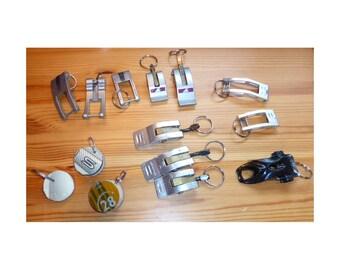 Ski Boot Buckle Keychains