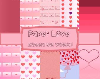 Paper love Valentine
