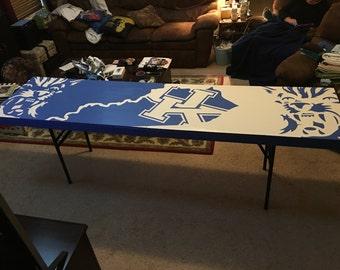 Custom Folding Beer Pong Table