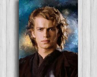 Anakin Skywalker star wars print