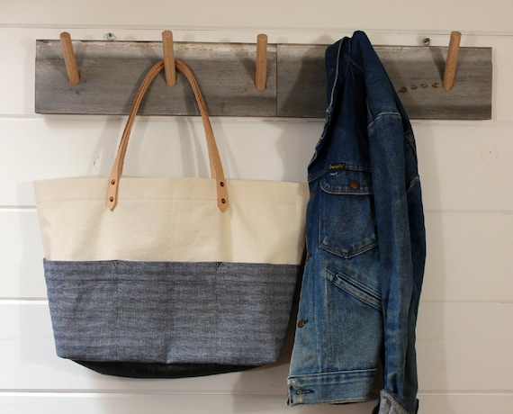 SALE Canvas/Herringbone Work Wear bag