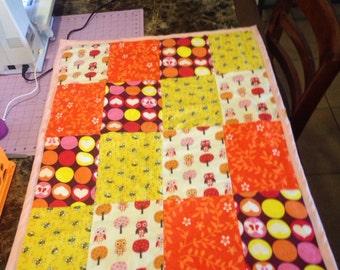 Blanket, orange