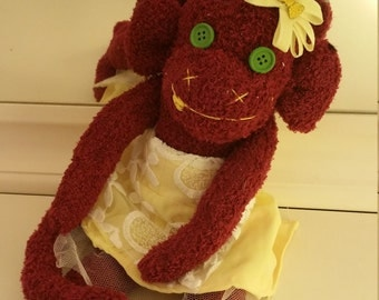 little miss sunshine sock monkey