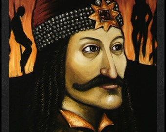 Vlad Tepes is Card Number 60 from the New Serial Killer Trading Cards