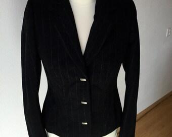 Black Wool Jacket - size 38