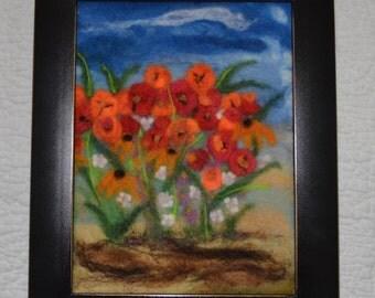 Poppies&Brown Eyed Susans
