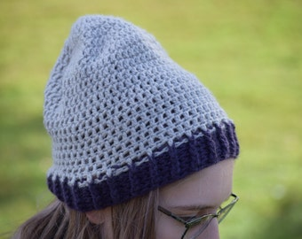 Color Block Beanie