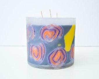 Decorative Handmade Candle - Decorative Candle, Beeswax Candle, Wax Candle, Home Decor, Home and Living