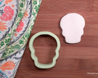 Sugar Skull Cookie Cutter. Skull Cookie Cutter. Halloween Cookie Cutter. Fondant Molds. Halloween Cookies. Day of the Dead Cookies.
