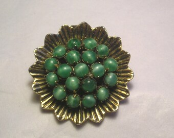 A Mixed Material Vintage Pin J14