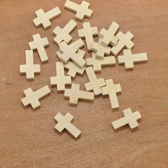 Unfinished Wood Crosses for Crafts