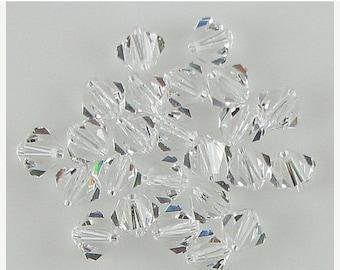 40% CLEARANCE 24 6mm Swarovski crystal bicone 5301 Crystal beads 3879