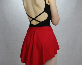 """SAB Style Pull-on Ballet Skirt with 1-1/2"""" waistband"""