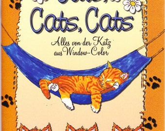 Susanne Scholz - cats, cats, cats - everything from the cat in window color
