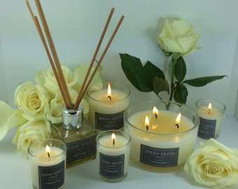 Spa Relax Homemade  3 Wick Soy Candle