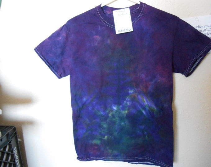 "100% Cotton Tie Dye T-shirt ""Midnight Sky"" MMSM6 size small"