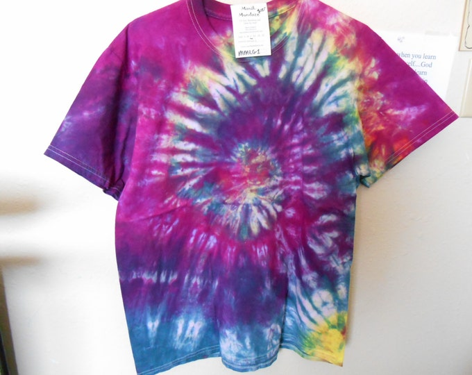 100% cotton Tie Dye T-shirt MMLG1 size Large