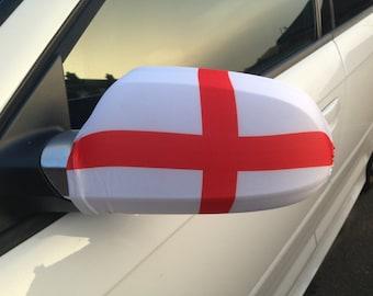 England Car Mirror Flag