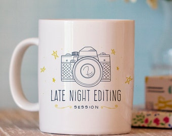 Late Night Editing Session Mug - Photography Mug - Coffee Mug Gift