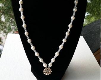 Necklace & Bracelet of Pearls