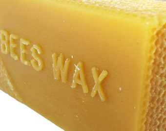 All Natural Pure 100% Bees Wax ~ 1 Pound Block of Beeswax for Candles, Crafts and So Much More!
