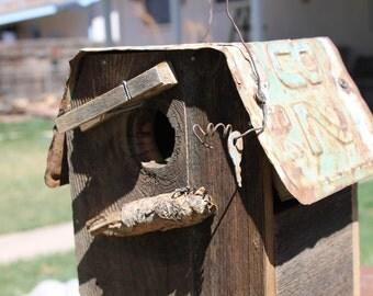 CO '64 Rustic Birdhouse