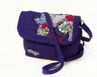 Hand bag patchwork