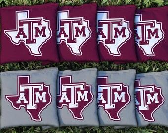 Texas A&M Aggies Cornhole Bag Set