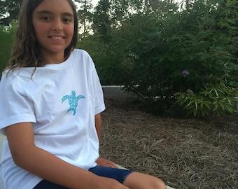 Sea Turtle T-shirt for Kids