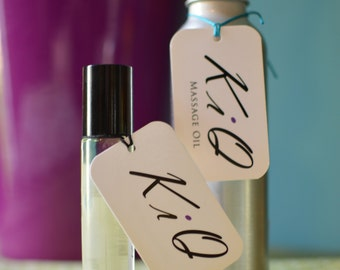 Natural Aromatherapy Perfume Oil - KiQ No.7