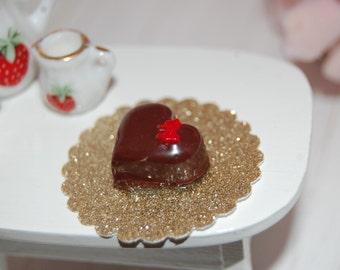 Cake for Valentin' day Dollhouse