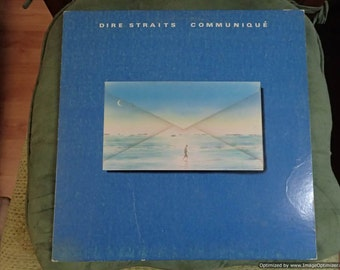 Dire Straits Communique Vintage Vinyl Record