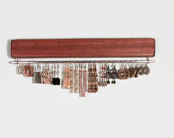 Earring Display, Wall Mounted, Jewelry Organizer, Jewelry Rack, Jewelry Display, Bracelet Display, Necklace Display