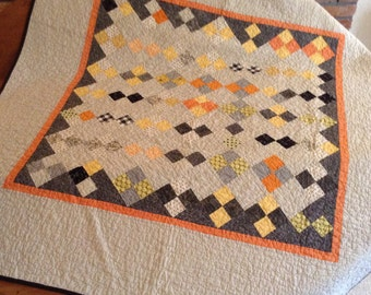 Scrappy 4 Patch Quilt