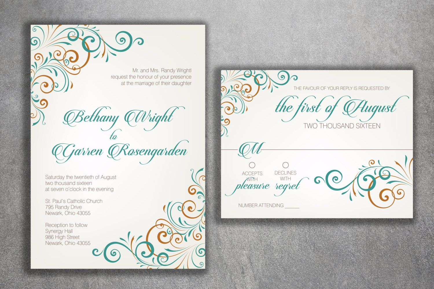 Wedding invitation wedding announcement wedding invitations wedding invitation wedding announcement wedding invitations wedding invite custom wedding invitation wedding invitation set kit rustic monicamarmolfo Image collections