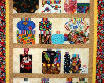 My Collections Jar Quilt Pattern