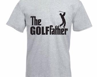 Golf father t-shirt